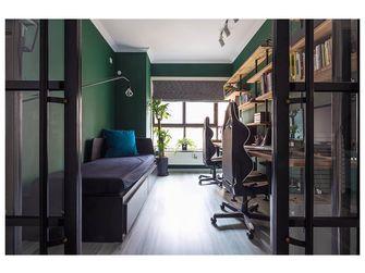 3-5万110平米四室两厅英伦风格书房图