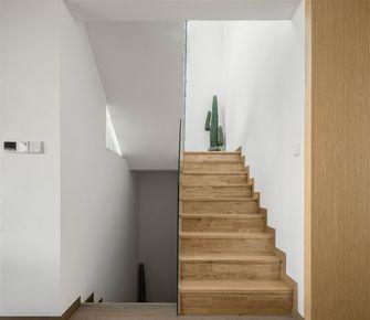 140平米三室三厅混搭风格楼梯间设计图