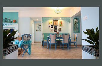 120平米四室两厅地中海风格餐厅图