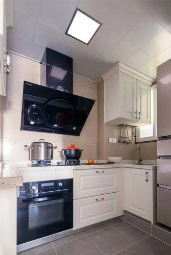 120平米四室一厅美式风格厨房装修效果图