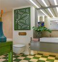 60平米公寓宜家风格卫生间效果图