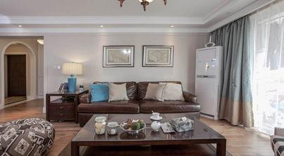 5-10万120平米三室四厅美式风格客厅图