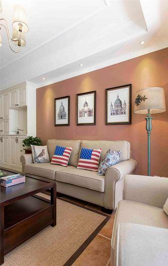90平米美式风格客厅图片大全