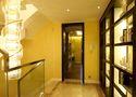 140平米三室一厅东南亚风格走廊图