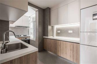 100平米三混搭风格厨房欣赏图