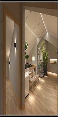 120平米复式中式风格走廊设计图