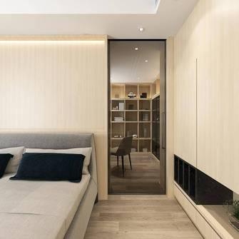 140平米四室两厅宜家风格卧室图片大全