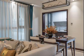 110平米四室一厅中式风格客厅欣赏图