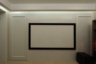 60平米现代简约风格影音室图