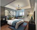 90平米三室两厅中式风格卧室图片