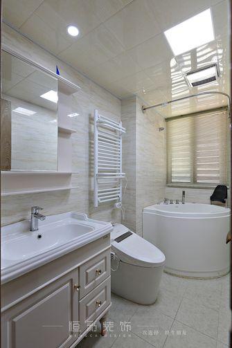 富裕型80平米三室两厅中式风格卫生间图片