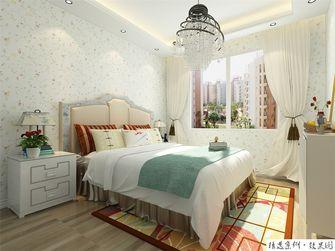 60平米一室一厅田园风格卧室装修效果图
