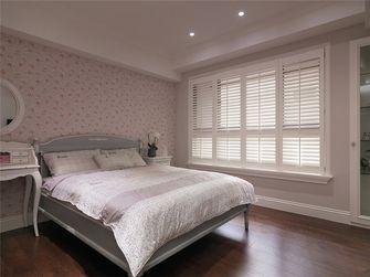 100平米三室一厅田园风格卧室飘窗效果图