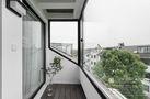140平米复式日式风格阳台图片大全