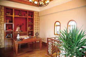 120平米别墅东南亚风格书房图片