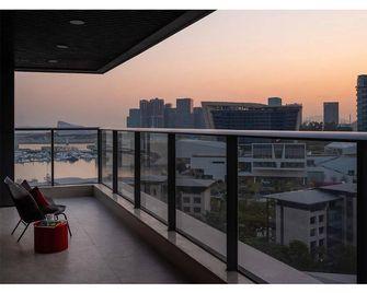 110平米三现代简约风格阳台欣赏图