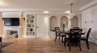 经济型120平米三室四厅美式风格餐厅设计图