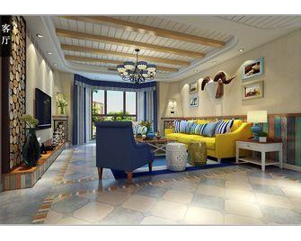 豪华型140平米别墅地中海风格客厅装修案例