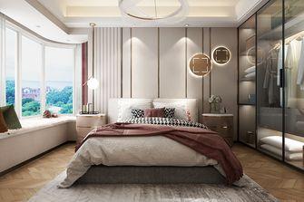 120平米三室三厅现代简约风格卧室欣赏图