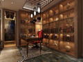 110平米三室两厅混搭风格书房家具装修图片大全