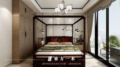 140平米四室两厅中式风格卧室图片大全