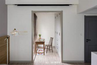 90平米三室两厅混搭风格衣帽间图