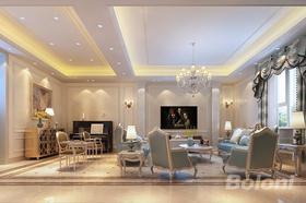 140平米四歐式風格客廳裝修效果圖