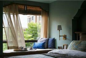 120平米四室两厅美式风格卧室装修案例