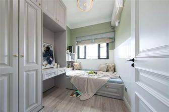 130平米三室两厅美式风格儿童房图片大全