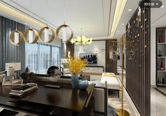 120平米四室一厅中式风格客厅装修效果图