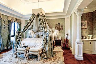 140平米四室三厅法式风格卧室欣赏图