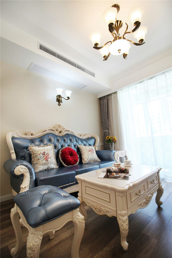 60平米一室两厅欧式风格客厅装修案例
