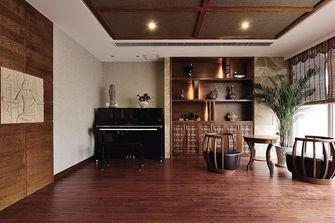 90平米别墅东南亚风格客厅图