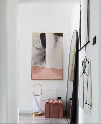 50平米一室两厅现代简约风格玄关图片