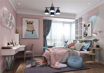 130平米三室两厅北欧风格儿童房欣赏图