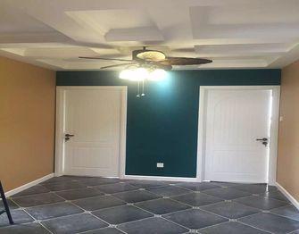 110平米三室一厅美式风格餐厅设计图