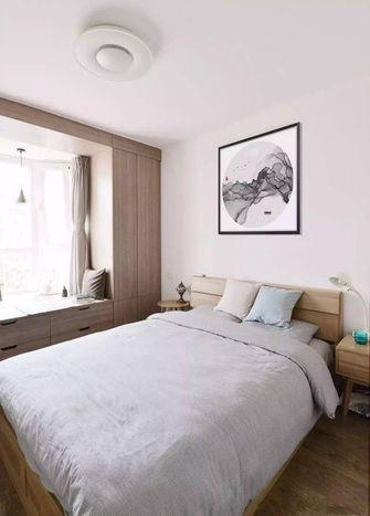 50平米一居室混搭风格卧室装修案例