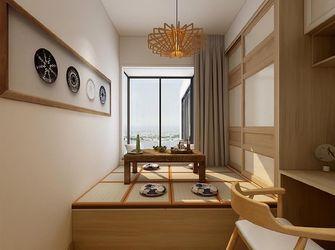 90平米三室两厅日式风格阳光房效果图