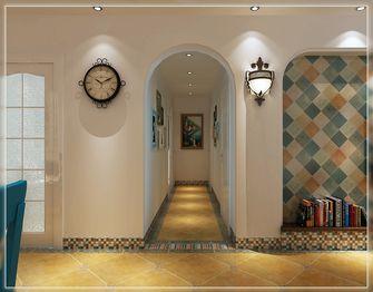 120平米三室两厅田园风格走廊欣赏图