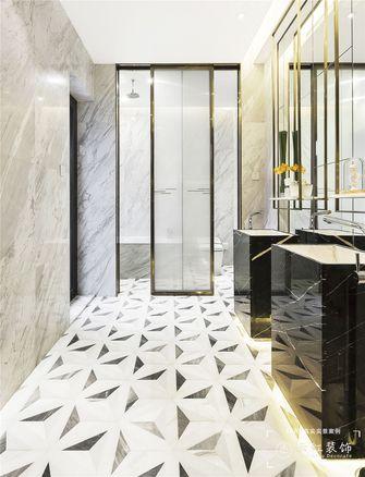 120平米复式现代简约风格卫生间装修案例