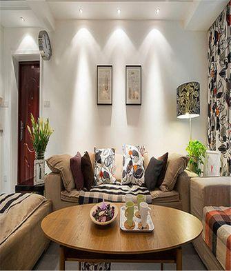 60平米一室一厅混搭风格客厅装修图片大全