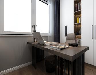 130平米四室两厅欧式风格书房设计图