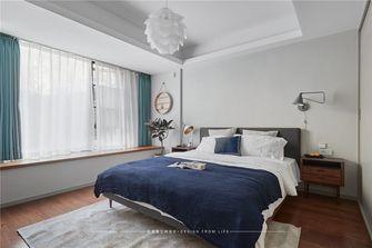 130平米复式现代简约风格卧室设计图