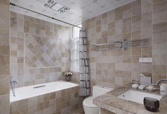 140平米四室两厅美式风格卫生间装修案例