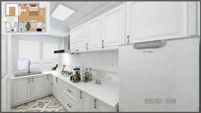 50平米一居室混搭风格厨房图