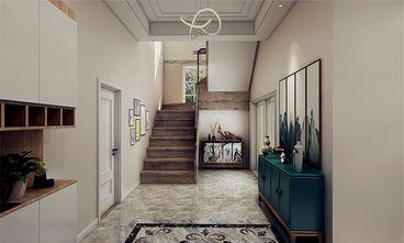 140平米四室五厅混搭风格玄关图片