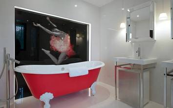 现代简约风格浴室图片大全