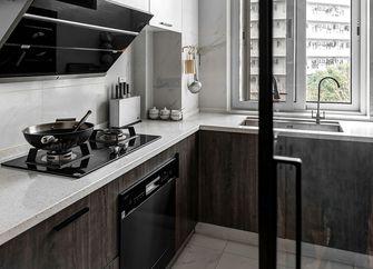 140平米三室两厅中式风格厨房图