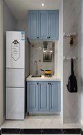 50平米小户型美式风格厨房图