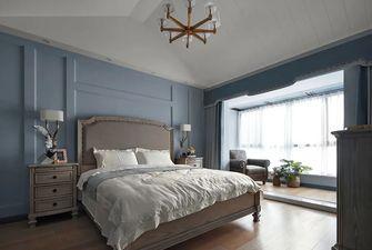 140平米四室一厅美式风格卧室设计图
